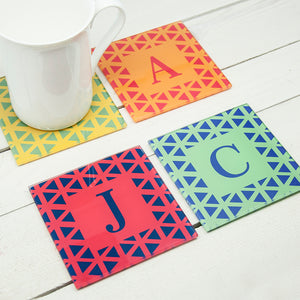 Personalised Glass Coasters - Set Of 4
