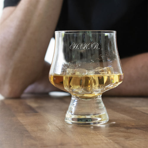 Personalised Crystal Snifter Whisky Glass