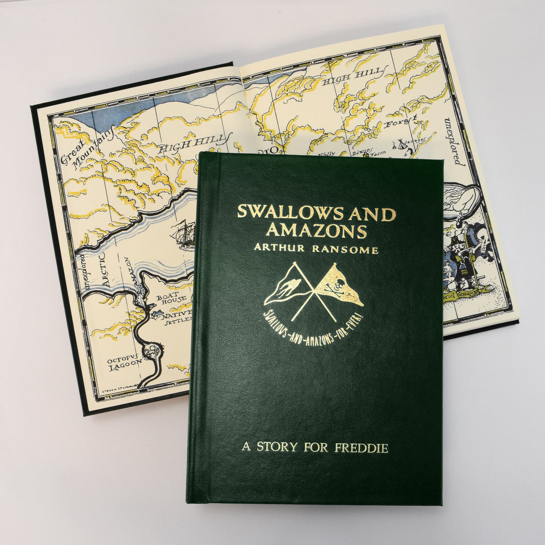 Swallows And Amazons Personalised Book
