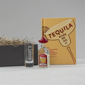 Personalised Tequila Gift Set