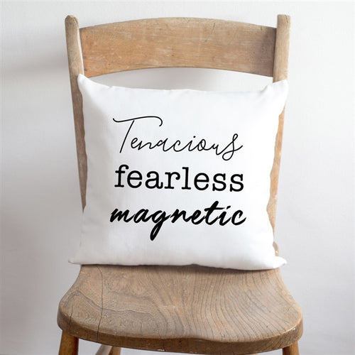 Personalised Three Things About You Cushion