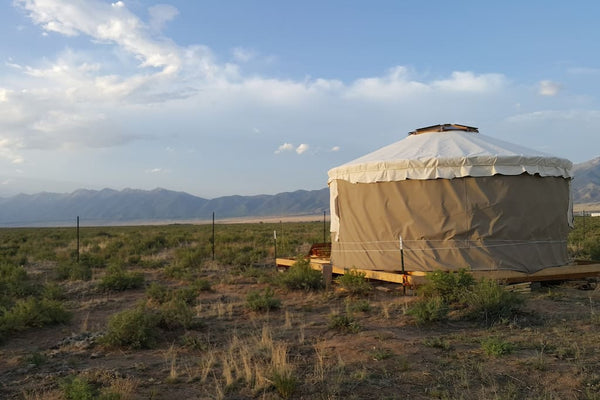Camel Dairy Farm Yurt - Top 10 Colorado Yurts