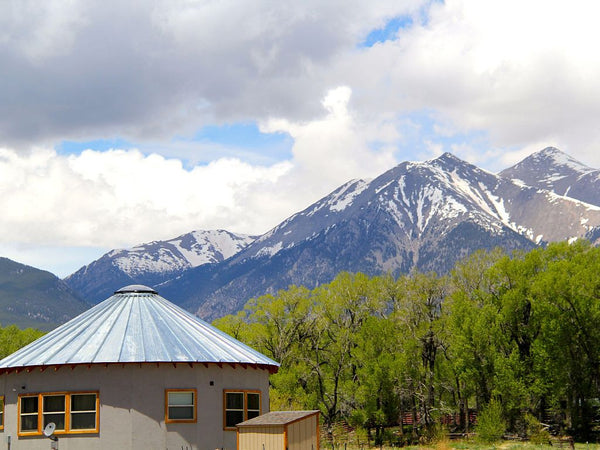 The Roundhouse Yurt - Top 10 Colorado Yurts