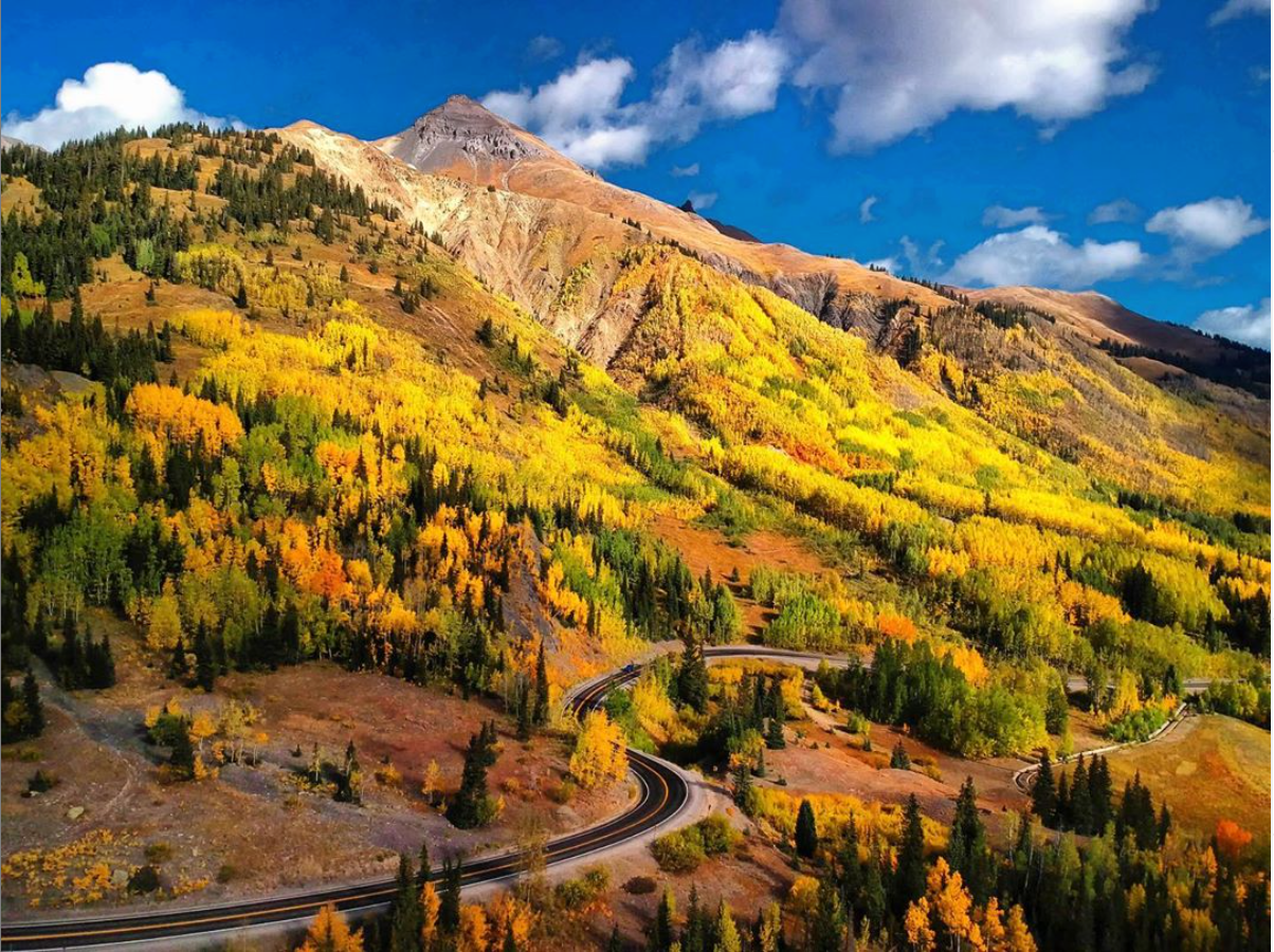 Million Dollar Highway - Colorado Scenic Drives