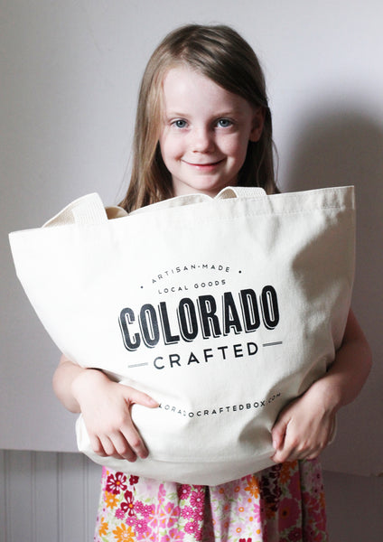 Colorado Market Tote + cute model