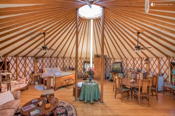 Aspen Glamping Yurt - Top 10 Colorado Yurts