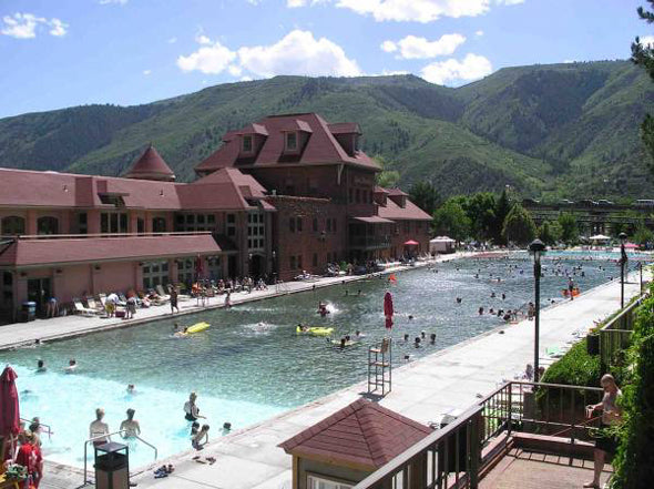 Glenwood Springs Swimming Pool Colorado