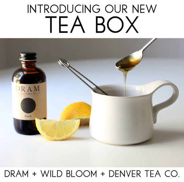 The Tea Box, by Colorado Crafted // Artisan Food Gifts
