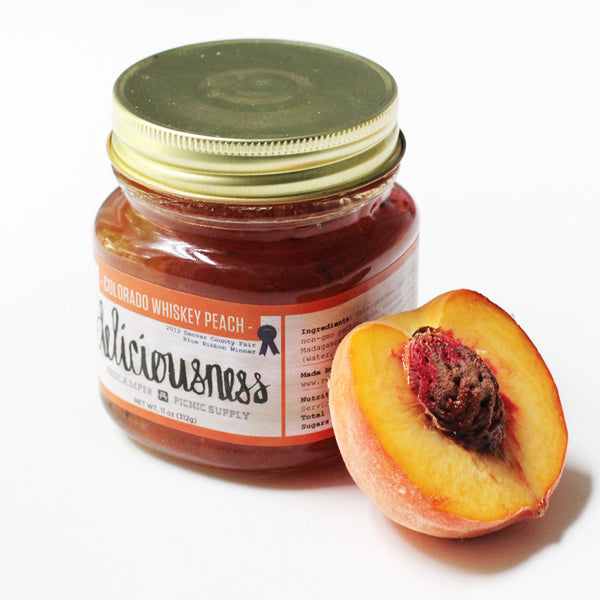 Iconic Denver-made Whiskey Peach Jam
