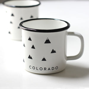 Colorado Enamel Camp Mug