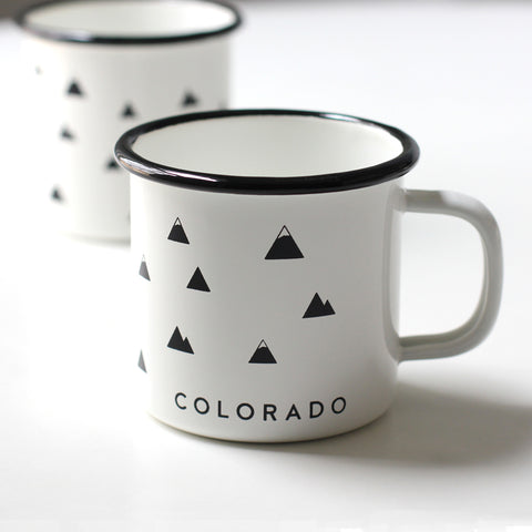 Colorado Enamel Camp Mug.