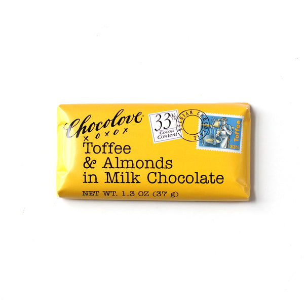Mini Milk Chocolate & Toffee Bar
