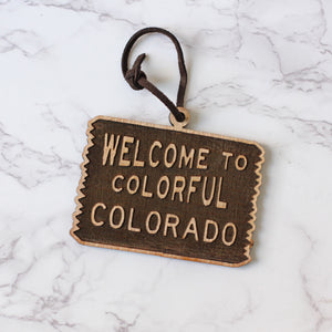 Welcome to Colorado Ornament