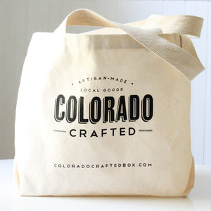 Colorado Gift Basket - Market Tote Bag