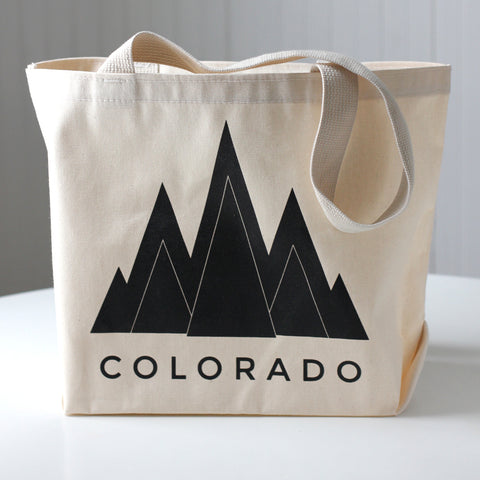 Colorado Mountain Tote Bag