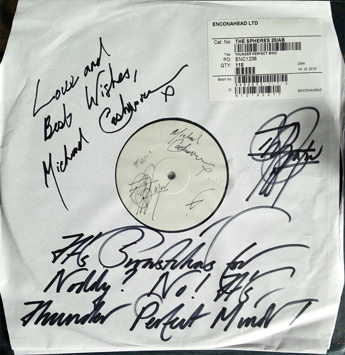 Signed Current 93 Test Pressing And Colour Cover Proofs In Charity Auction On Ebay