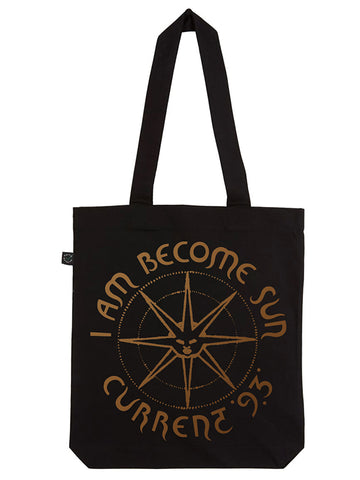 C93 I Am Become Sun Tote Bag (Black)