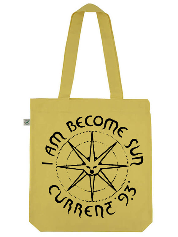 C93 I Am Become Sun Tote Bag (ButterCup Yellow)