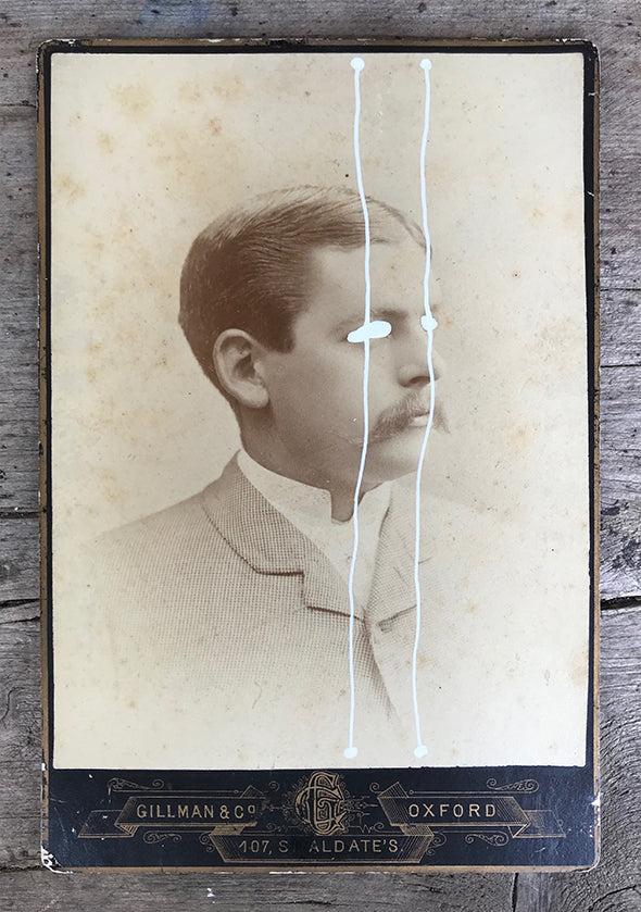 The Light Is Leaving Us All - Large Cabinet Card 15