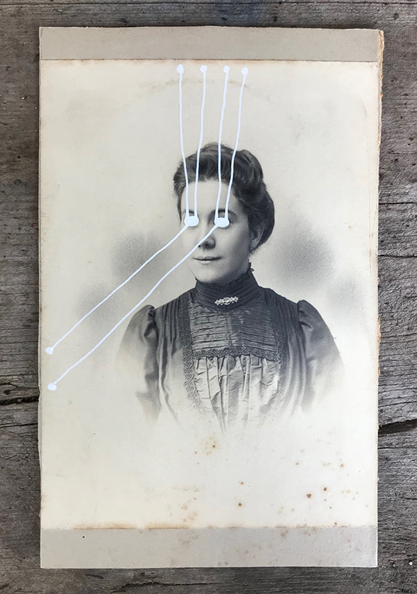 The Light Is Leaving Us All - Large Cabinet Card 17