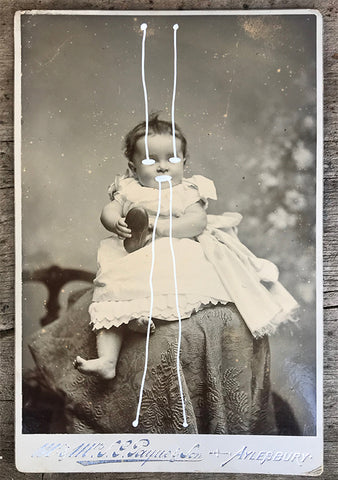 The Light Is Leaving Us All - Large Cabinet Card 1