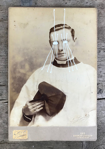 The Light Is Leaving Us All - Large Cabinet Card 25