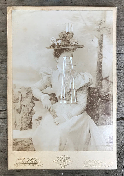 The Light Is Leaving Us All - Large Cabinet Card 27