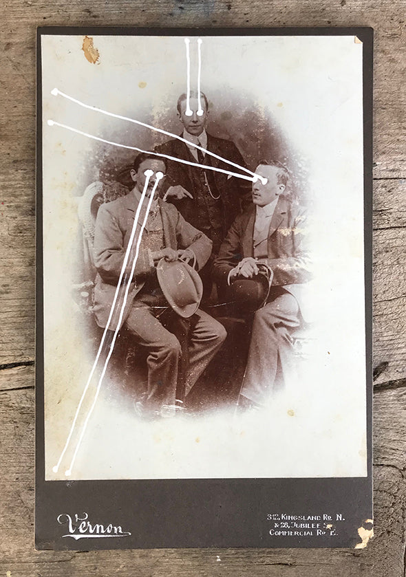 The Light Is Leaving Us All - Large Cabinet Card 29