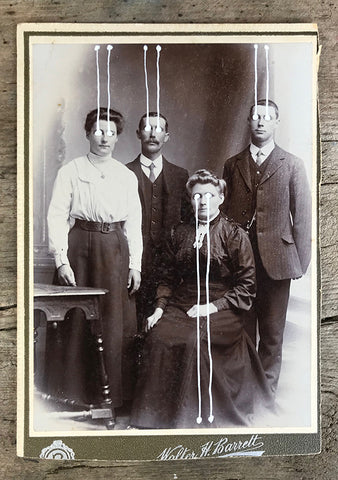 The Light Is Leaving Us All - Large Cabinet Card 30