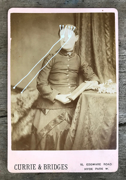 The Light Is Leaving Us All - Large Cabinet Card 34