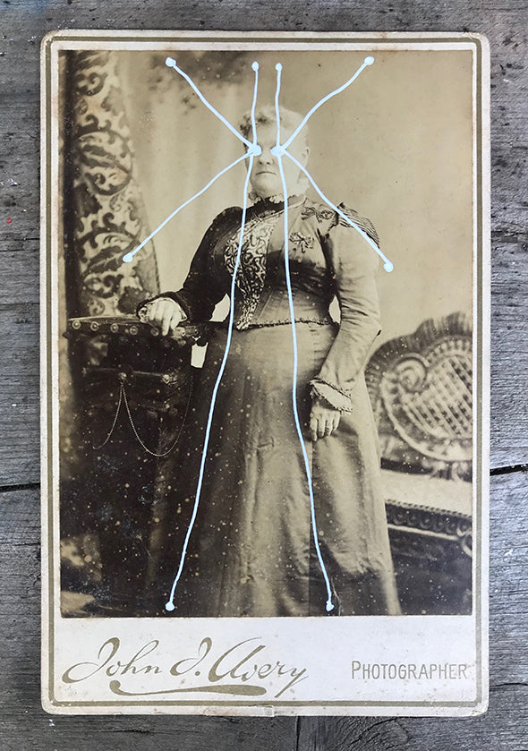 The Light Is Leaving Us All - Large Cabinet Card 35