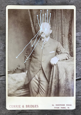 The Light Is Leaving Us All - Large Cabinet Card 36