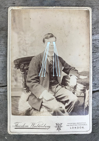 The Light Is Leaving Us All - Large Cabinet Card 37