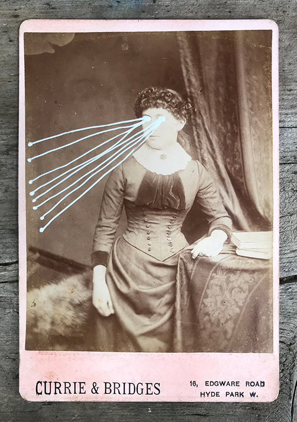 The Light Is Leaving Us All - Large Cabinet Card 44