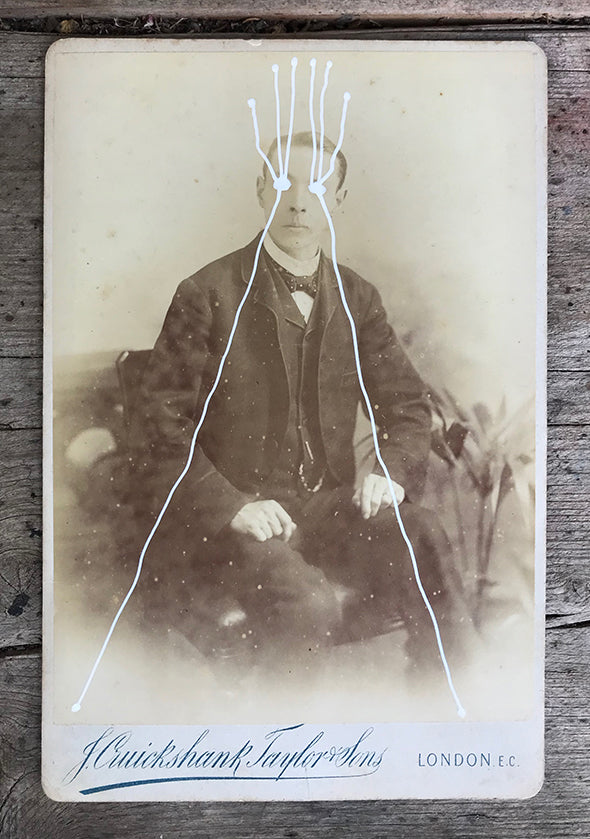 The Light Is Leaving Us All - Large Cabinet Card 4