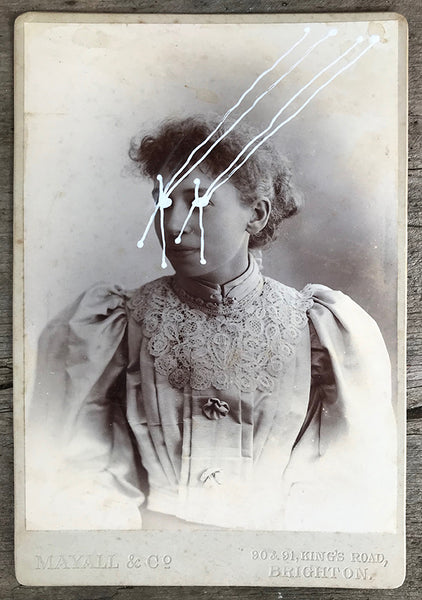 The Light Is Leaving Us All - Large Cabinet Card 50