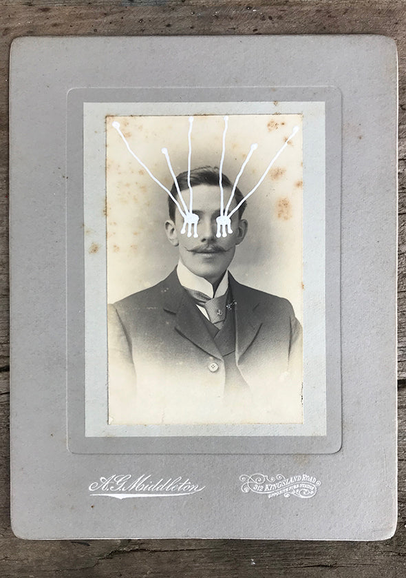 The Light Is Leaving Us All - Large Cabinet Card 54