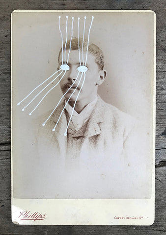 The Light Is Leaving Us All - Large Cabinet Card 60