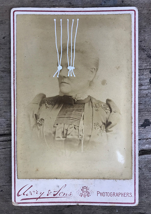 The Light Is Leaving Us All - Large Cabinet Card 62