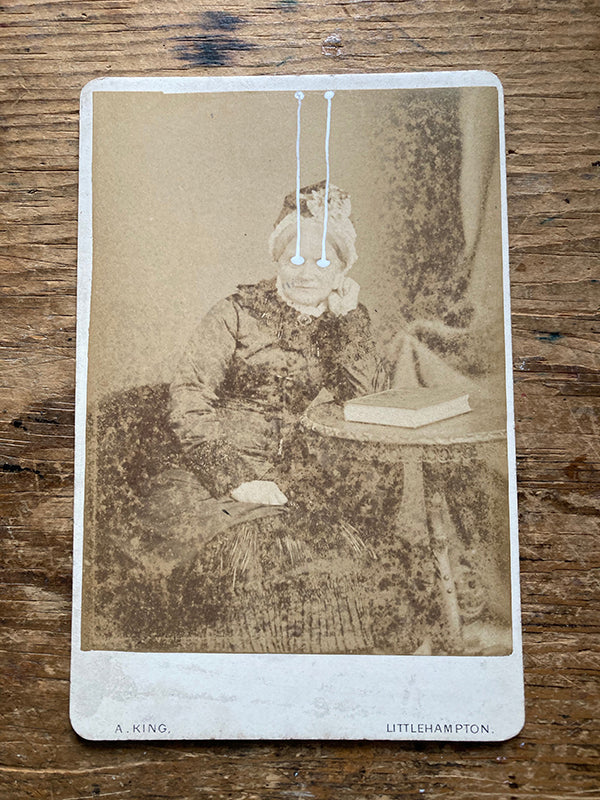 The Light Is Leaving Us All - Large Cabinet Card 67