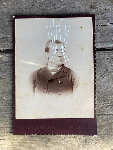 The Light Is Leaving Us All - Large Cabinet Card 72
