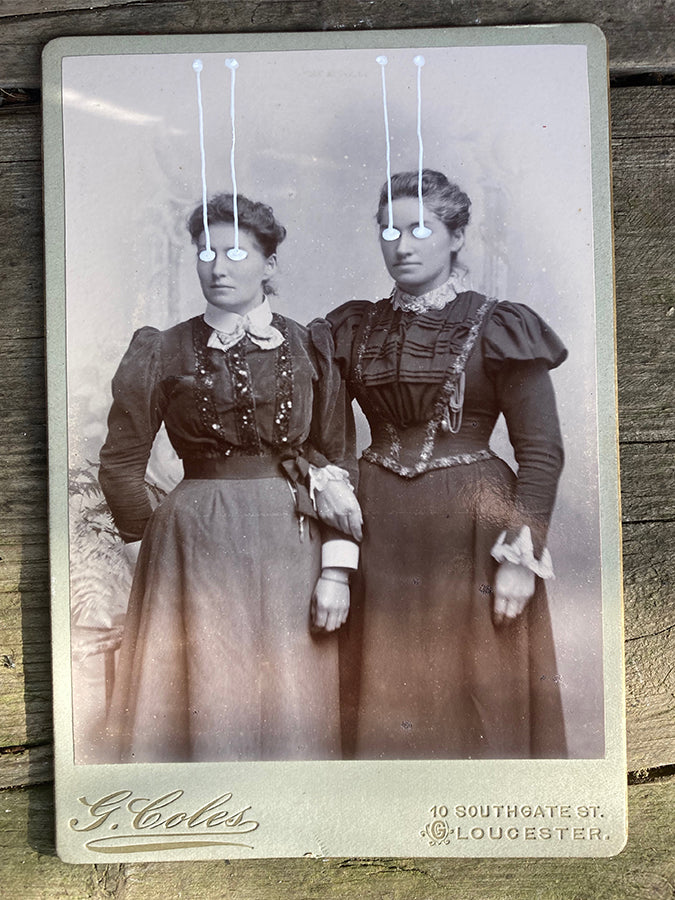 The Light Is Leaving Us All - Large Cabinet Card 78