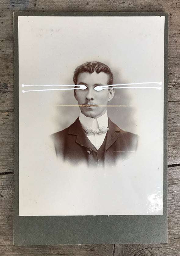 The Light Is Leaving Us All - Large Cabinet Card 7