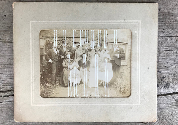 The Light Is Leaving Us All - Cabinet Card (130x155mm)