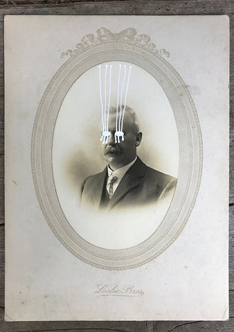 The Light Is Leaving Us All - Cabinet Card (140x190mm)