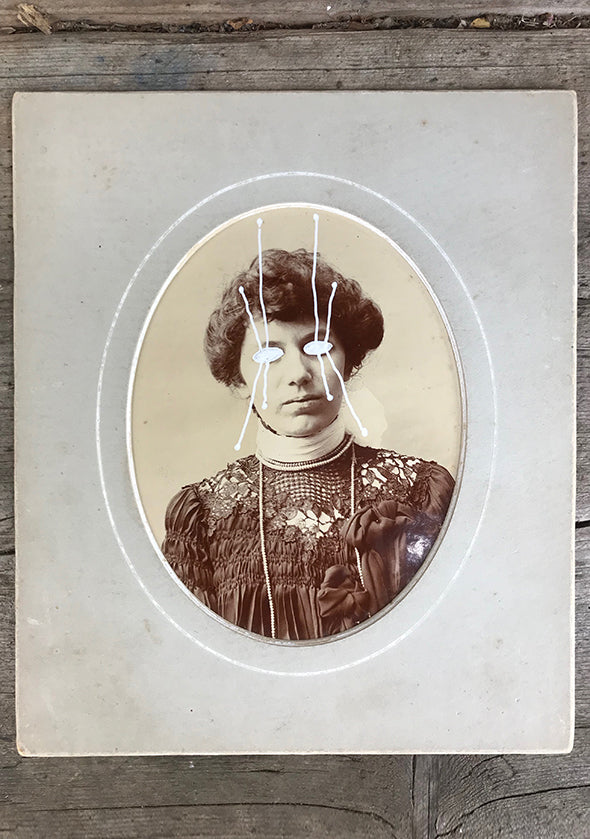 The Light Is Leaving Us All - Cabinet Card (150x175mm)