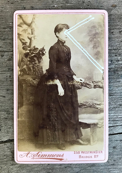 The Light Is Leaving Us All - Small Cabinet Card 14