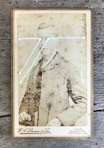 The Light Is Leaving Us All - Small Cabinet Card 18