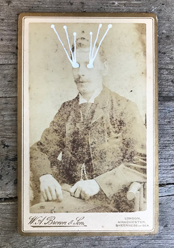 The Light Is Leaving Us All - Small Cabinet Card 19