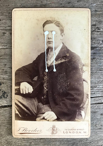 The Light Is Leaving Us All - Small Cabinet Card 21